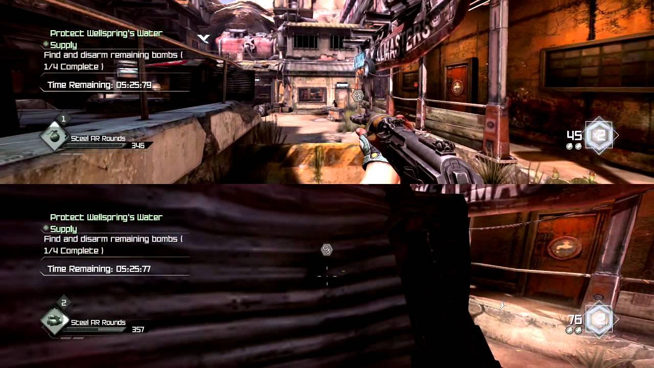 Rage Modo Cooperativo Para Dos Jugadores Youtube