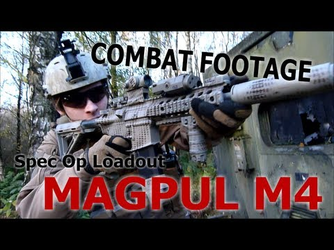 Airsoft Combat Spec Ops Loadout Magpul M4 Famas L85 - YouTube