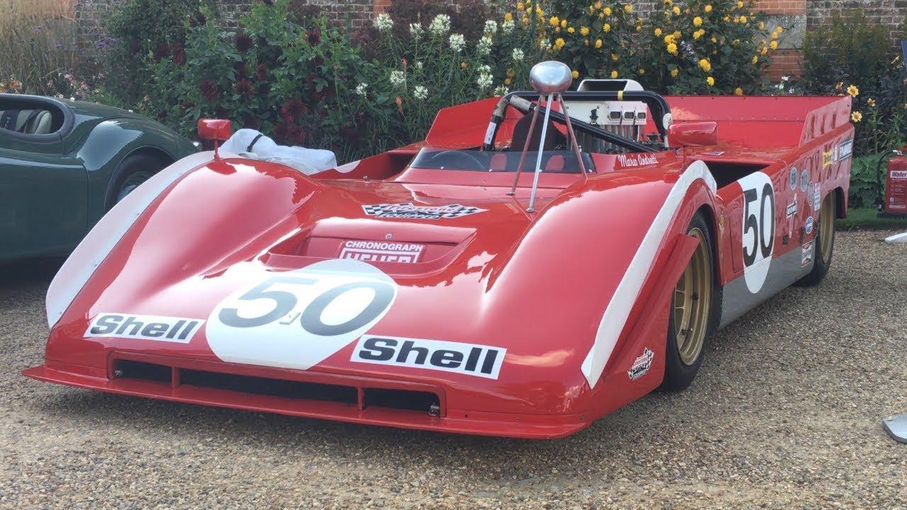 Can Am Car >> Ferrari 712 Can Am The 700bhp Monster Race Car Ex Mario Andretti