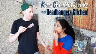 Keto Chocolate Cake From Headbangers Kitchen | Flourless Chocolate Cake!