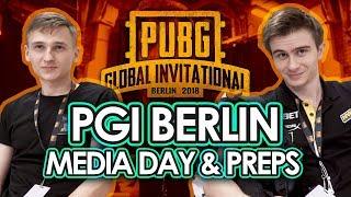 NAV  PUBG at PG  Berlin Media Day and Preps