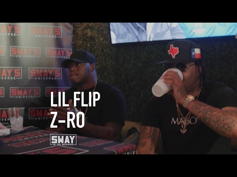 Lil Flip and Z-Ro Interview on Sway in the Morning