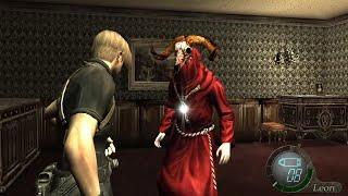 """バイオハザード4 逃げ続ける敵を追うと""""驚愕""""の現象が......【Resident Evil 4】【PS4】"""
