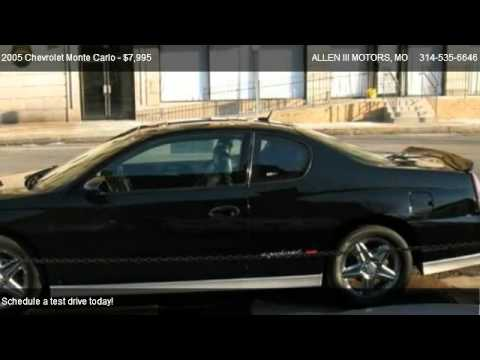 2005 chevrolet monte carlo supercharged ss for sale in st louis mo 63107 youtube. Black Bedroom Furniture Sets. Home Design Ideas
