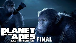 Планета обезьян : Последний рубеж | Финал плохой концовки