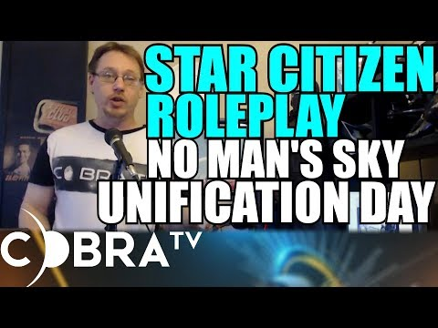Star Citizen! Ways to Roleplay! No Man's Sky Galactic Hub, Federation AND MORE
