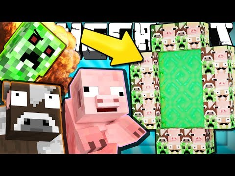 Thumbnail: If an ANIMALS ONLY Dimension was Added to Minecraft