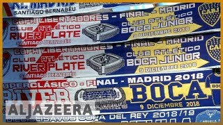 ⚽Copa Libertadores final: Boca and River to meet in Madrid now | Al Jazeera English