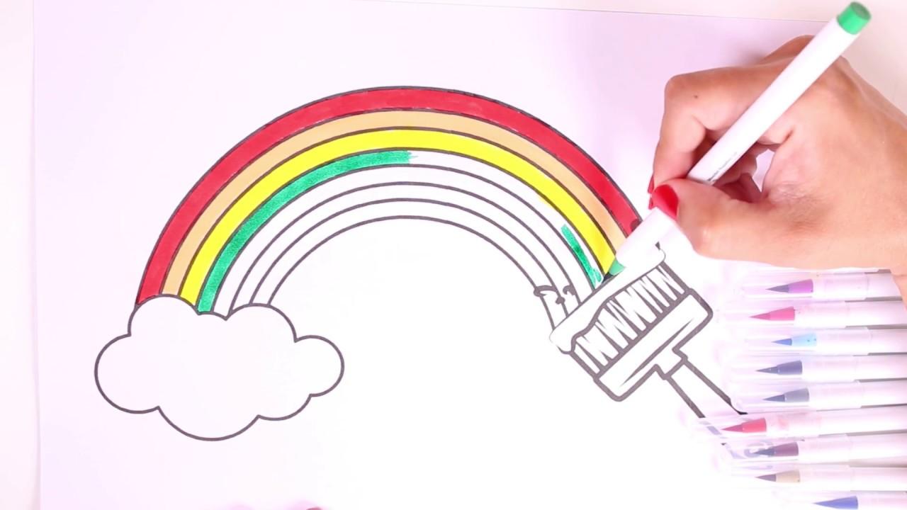 Dibuja Y Colorea 🎨 Aprendemos Los Colores Pintando Un