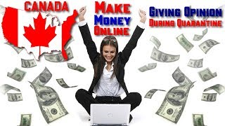 Make money online in canada giving ...