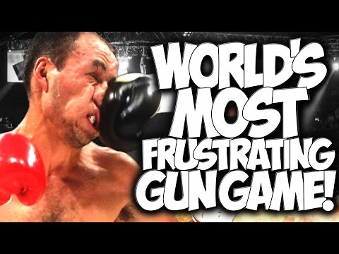 "COD AW: WORLD'S MOST FRUSTRATING GUN GAME!! 5 vs 1 PUNCH HUNT! ""FUNNY MOMENTS"" with the #GOONSQUAD"
