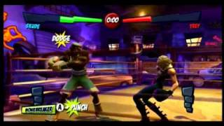 Facebreaker: K.O. Party (Wii) - TKO Trailer