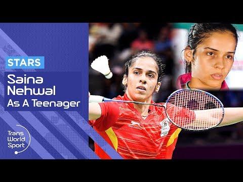 Saina Nehwal | Indian Badminton Star as a teenager on Trans World Sport