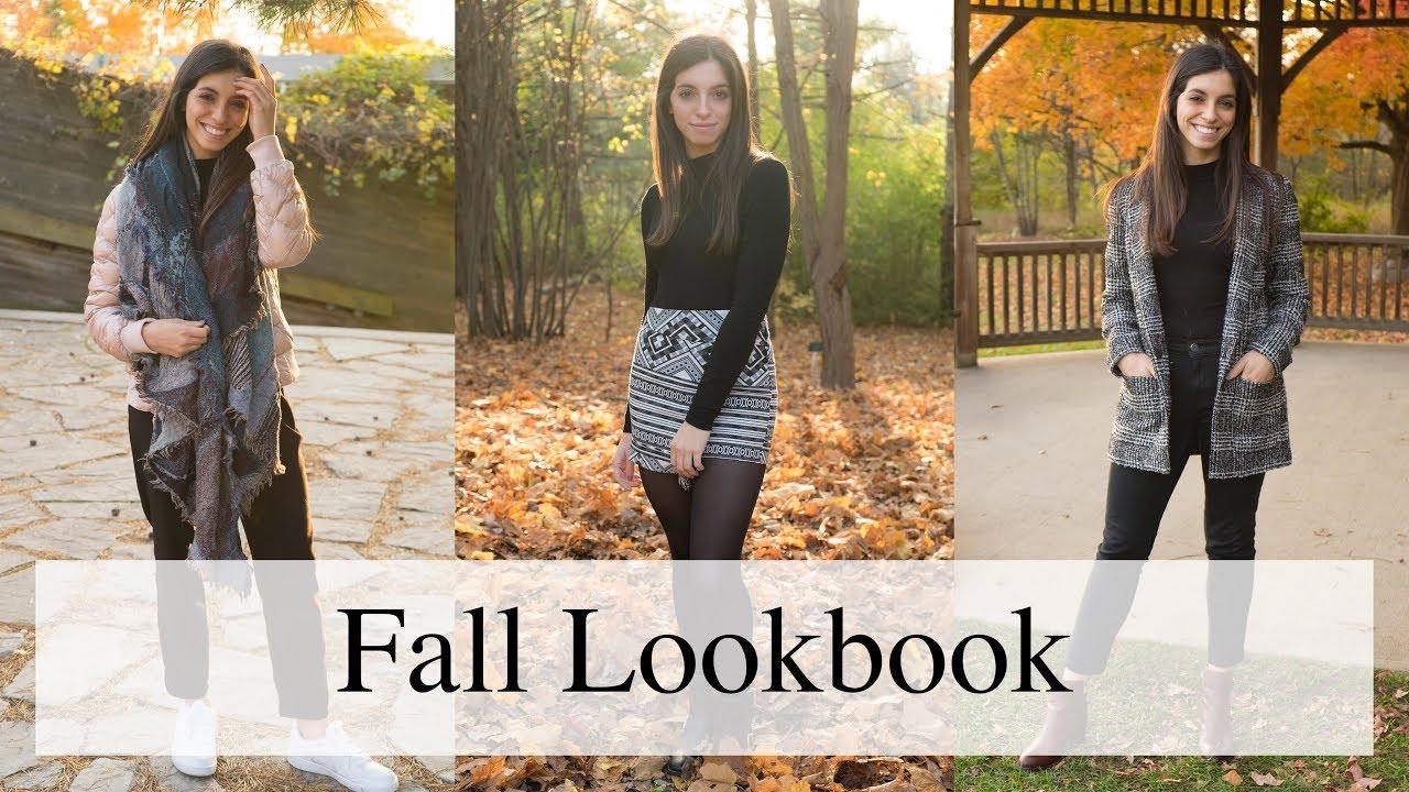 Casual Fall Outfit Ideas | Fall Lookbook 2018 2