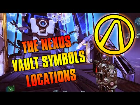 BORDERLANDS: The Pre-Sequel - The Nexus Cult Of The Vault Locations! (Claptastic Voyage DLC)