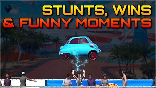 FORZA HORIZON 3 | EPIC STUNTS, WINS & FUNNY MOMENTS #3