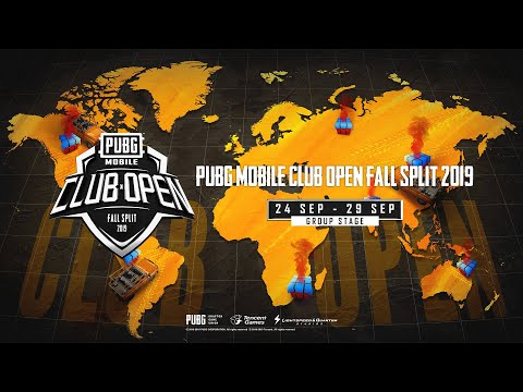 [Portuguese] PMCO South America Group Stage Day 1 | Fall Split | PUBG MOBILE CLUB OPEN 2019