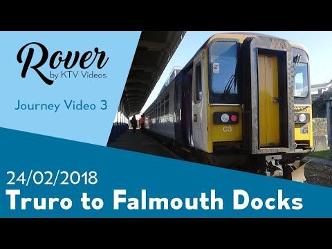 Truro to Falmouth Docks Journey Video