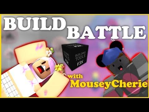 CANDYLAND BUILD BATTLE| Ft. MouseyCherie