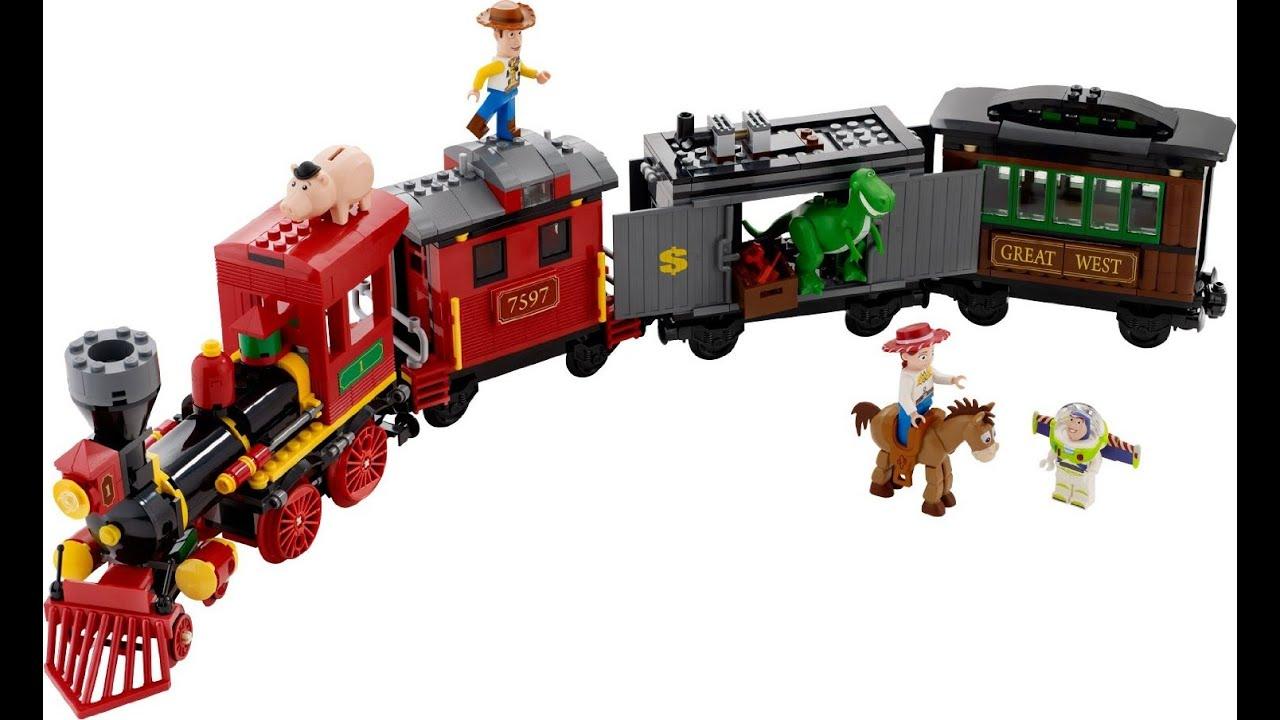 161d97c547f4f LEGO Toy Story 3 Tren del Oeste Juguete Para Niños - YouTube