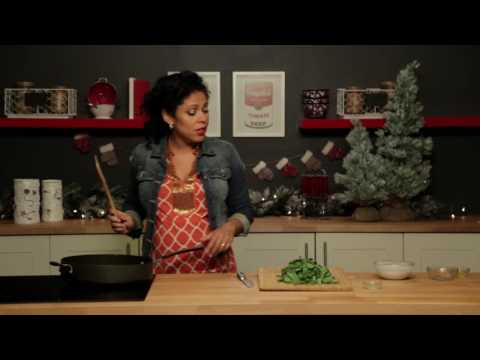 Holiday Sides with Latin Flair: Coconut Braised Collard Greens Recipe [Video]