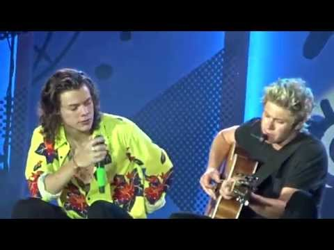 One Direction - Harry Talk + Little Things OTRA in Manila