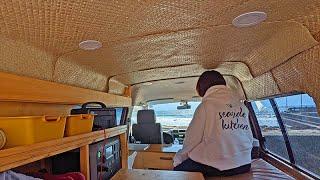 【海子旅】御宿サーフィンからの岬散策、そしてボンゴに事件が起きる