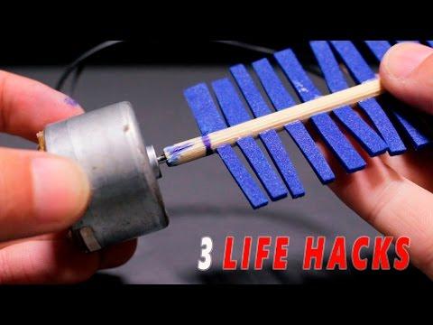 3 Increíbles Ideas o Life Hacks