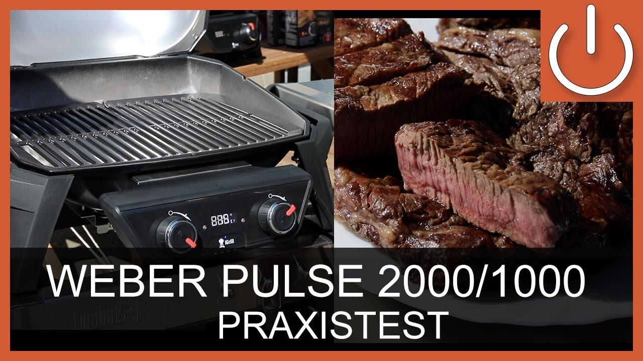 Weber Elektrogrill Obi : Weber pulse pulse elektrogrill praxistest thomas