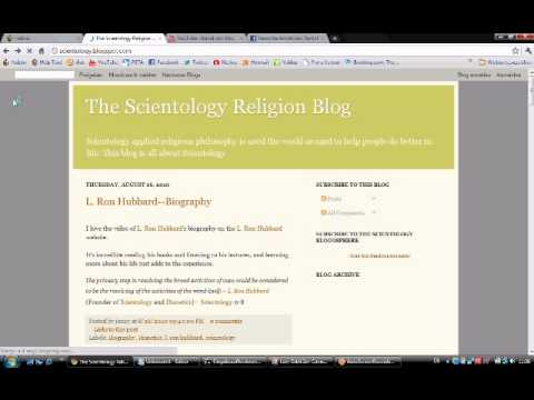 Website ddos [www.scientology.blogspot.com/]
