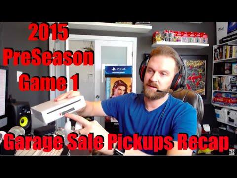 Garage Sale Pickups Recap Preseason 2015 Game 1 Part 2