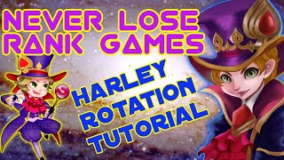 Harley Tutorial: Never Lose Using this Strategy, Mobile Legends 2019