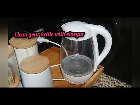 How to clean the inside of your electric kettle?