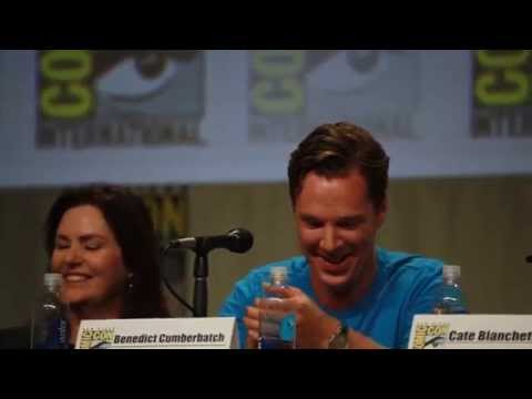 Thumbnail: Benedict Cumberbatch does Smaug voice - The Hobbit Panel Comic-Con 2014