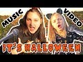 HALLOWEEN MUSIC VIDEO! The TOYTASITC Sisters! KIDS HALLOWEEN MUSIC! KAIA and SISSY!