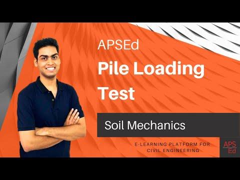 Pile Loading Test | Soil Mechanics