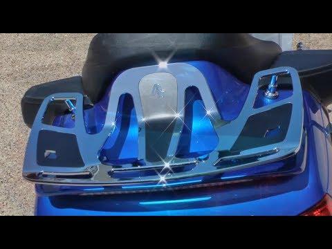 Install Luggage Rack On Honda Goldwing Gl1800 Youtube
