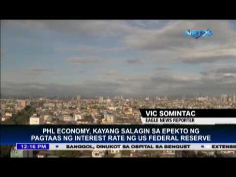 Philippine economy can withstand higher interest rate of US Federal Reserve