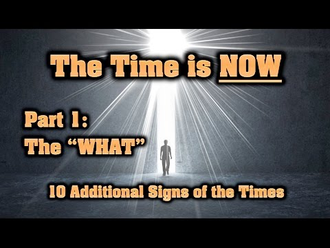The Time is NOW — Part 1: The