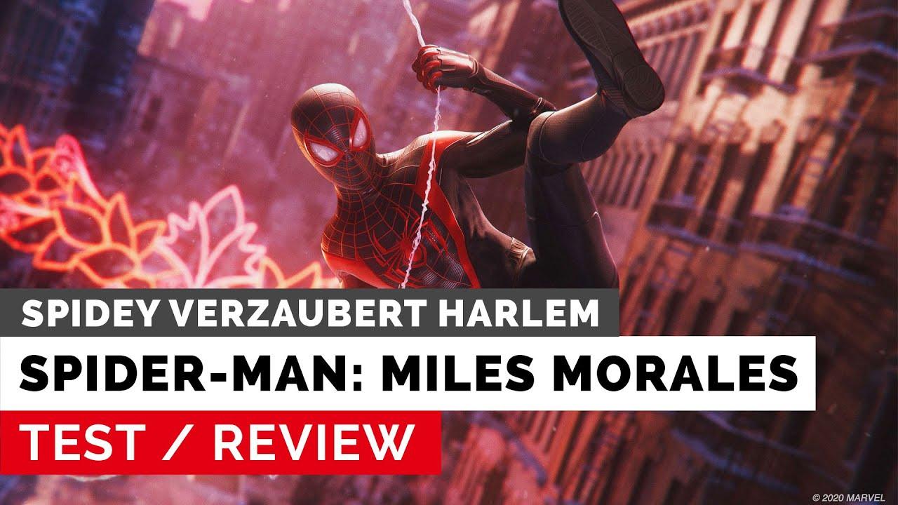 Marvel's Spider-Man: Miles Morales - Test: Spidey verzaubert Harlem (DE)