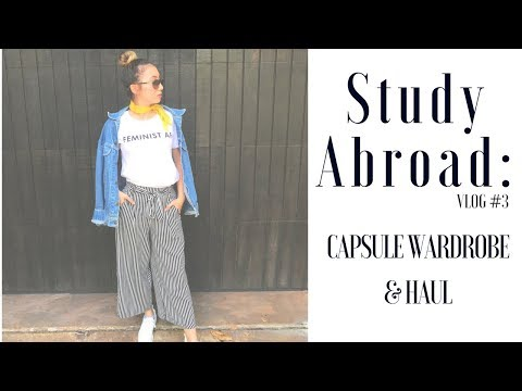 Study Abroad: Packing for a Year Abroad | Germany Capsule Wardrobe