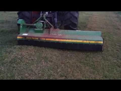 John Deere flail mower for sale - YouTube