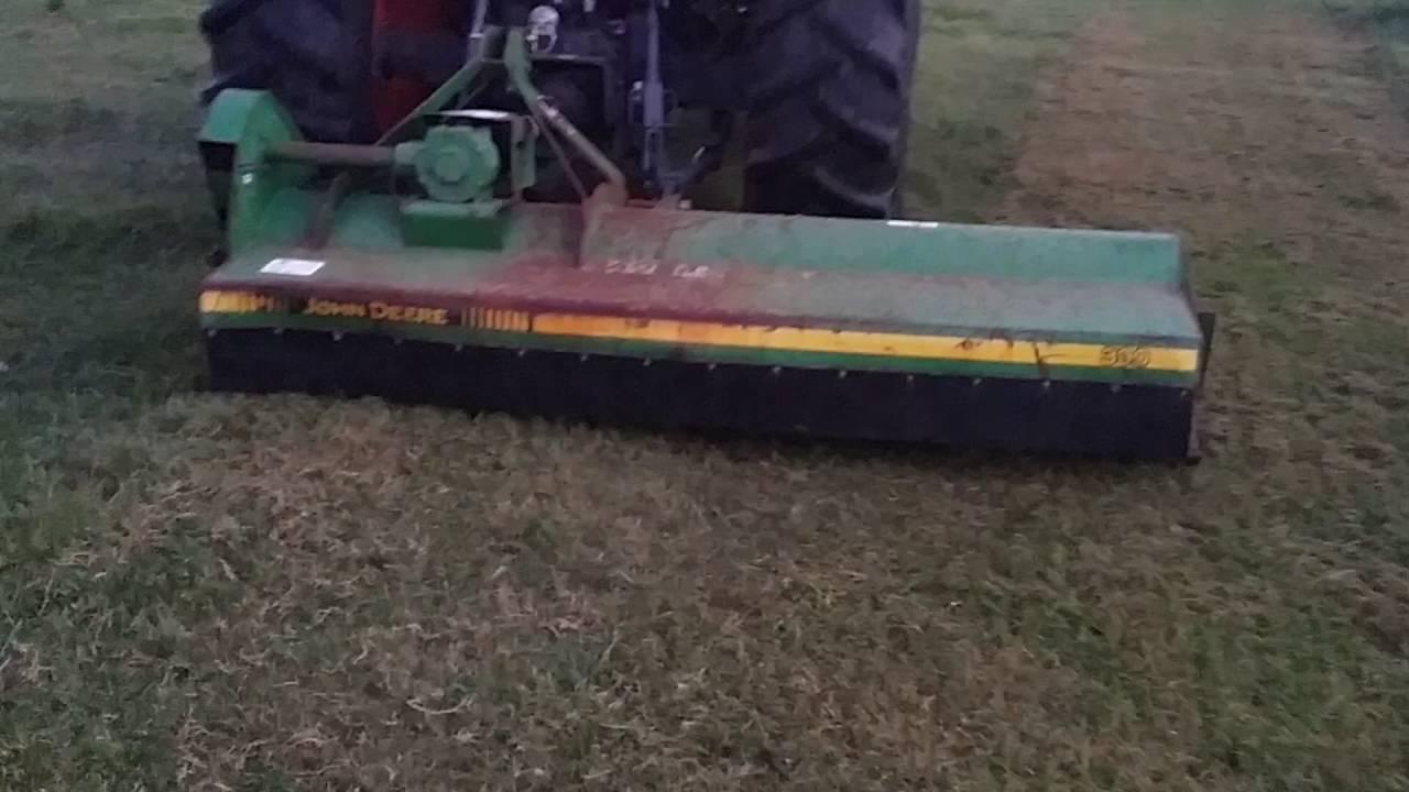 John Deere flail mower for sale