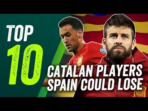 Independence for Catalonia? The 10 players Spain could lose - including Busquets, Fabregas & Pique!