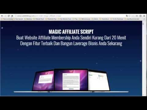 Magic Affiliate Script Intro | Website Affiliate Membership