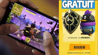 SECRET FOR 2 FREE DOS SAC on FORTNITE ANDROID