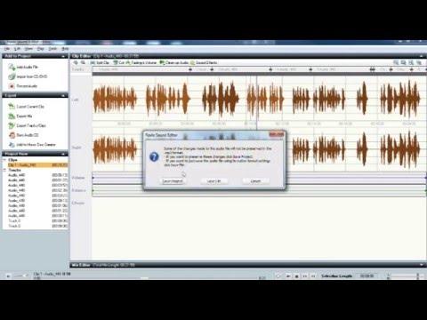 I hate Roxio 2011 Sound Editor