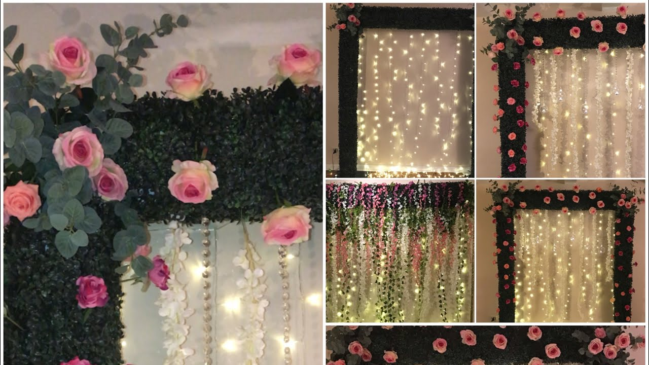 Diy Boxwood Backdrop Decor Part 1 Diy Wedding Decor Diy
