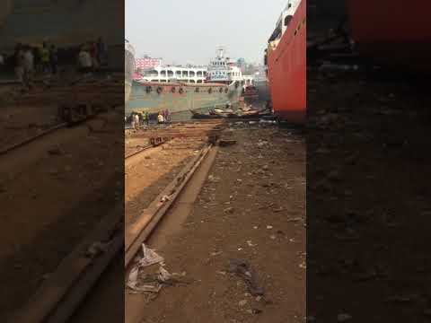 Dhaka ship repair yards