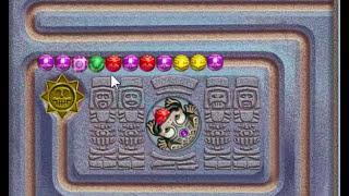 Zuma Deluxe Playthrough - Part 2 : Temple 2 (Quetzal Quatl)
